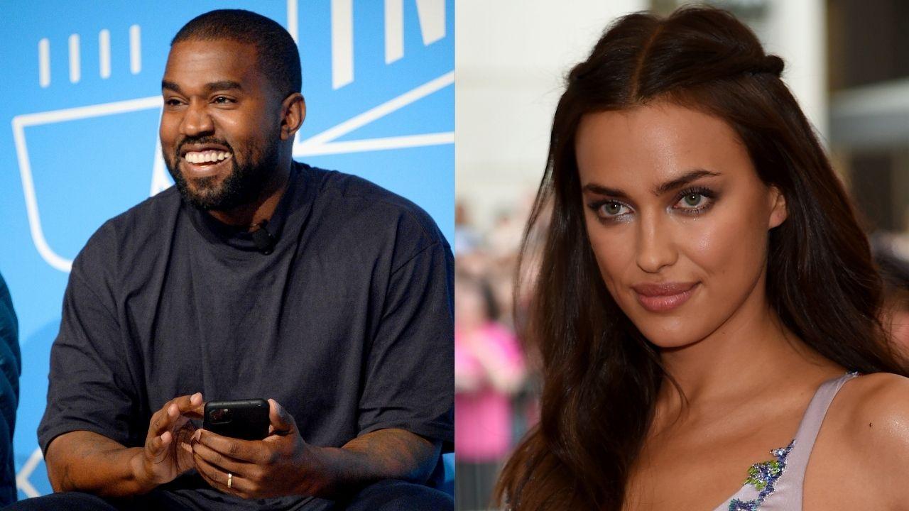 Kanye West é visto em Paris com ex de Bradley Cooper, topmodel Irina Shayk