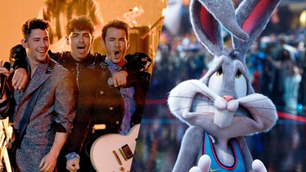 """Jonas Brothers são confirmados na trilha sonora de """"Space Jam 2"""""""