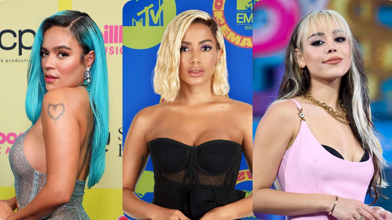Karol G, Anitta e Danna Paola estão entre indicados ao MTV MIAW 2021