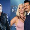 Katy Perry e Orlando Bloom encontram Harry Styles na Itália e passeiam juntos