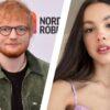 Ed Sheeran fala sobre Olivia Rodrigo e a compara com outra artista