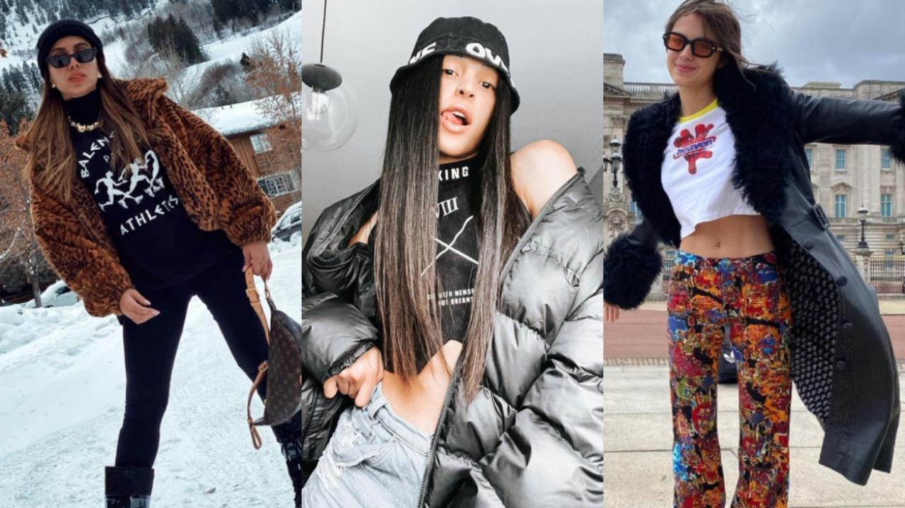 se inspire em looks estilosos de famosas para arrasar no inverno