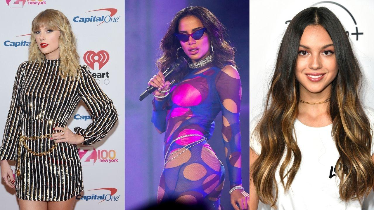 Confira os melhores lançamentos musicais para sextar com Taylor Swift, Olivia Rodrigo e Anitta!