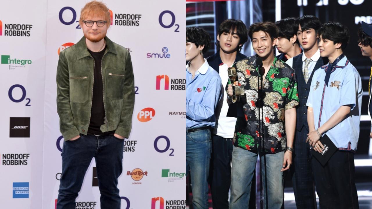 bts confirma colaboraçao de ed sheeran em butter com musica permission to dance
