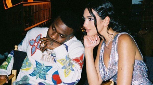 Após Dua Lipa se posicionar sobre polêmica de DaBaby, o rapper manda indireta para a cantora