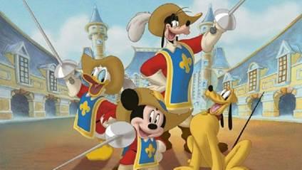Mickey, Donald e Pateta: Os Três Mosqueteiros (DVD) - Disney - Filmes de  Animação - Magazine Luiza