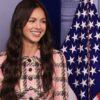 Olivia Rodrigo vai até a Casa Branca e faz discurso para incentivar jovens a tomar a vacina
