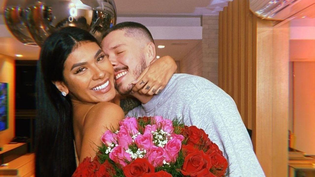 Pocah e Ronan Souza param de se seguir e rumores de fim de noivado surgem