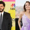 The Weeknd e Angelina Jolie são flagrados em restaurante juntos