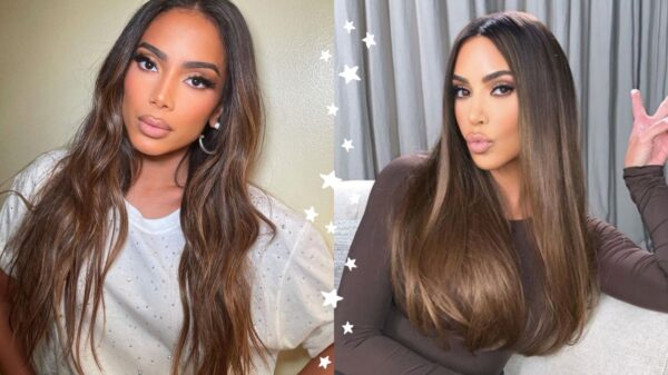 Anitta viraliza depois de make que a deixa igual à Kim Kardashian