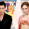 Austin Butler é flagrado aos beijos com Lily-Rose Depp