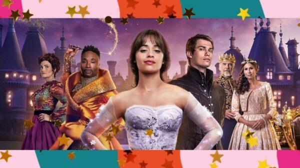 """Em nova cena de """"Cinderella"""", com Camilla Cabelo, veja detalhes do vestido e sapato de cristal"""
