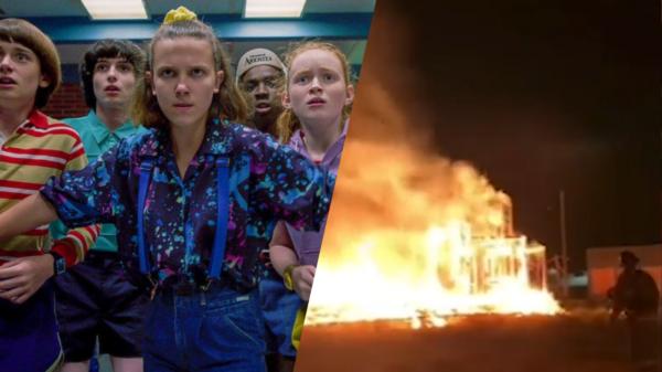 """Incêndio atinge set de """"Stranger Things"""" nos Estados Unidos"""