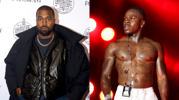 """Kanye West chamou DaBaby e Manson para evento de """"Donda"""" por atenção, afirma fonte"""