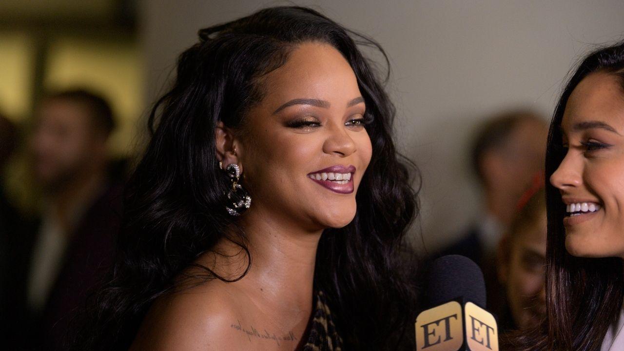 Rihanna é questionada sobre ser bilionária e tem a melhor reação