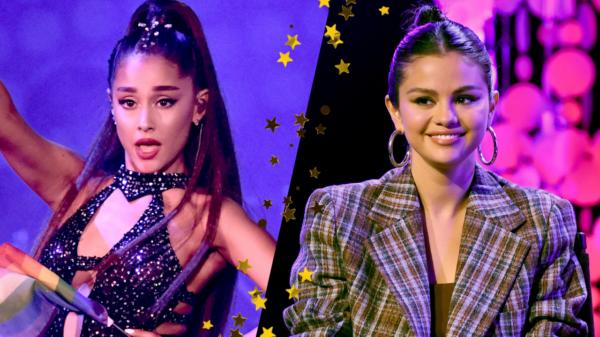 Selena Gomez canta faixa da Ariana Grande em vídeo e cantora responde