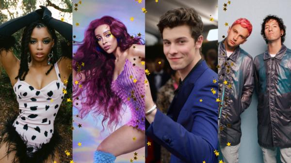 Shawn Mendes, Doja Cat, Twenty One Pilots e Chlöe são confirmados no VMA