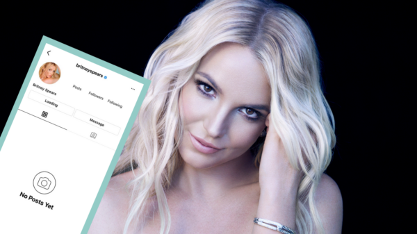 Conta de Britney Spears no Instagram é desativada