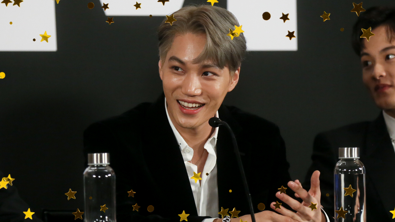Kai, do EXO, abre canal no YouTube