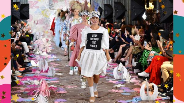 Modelo internacional comenta tendências da Semana de Moda de Londres