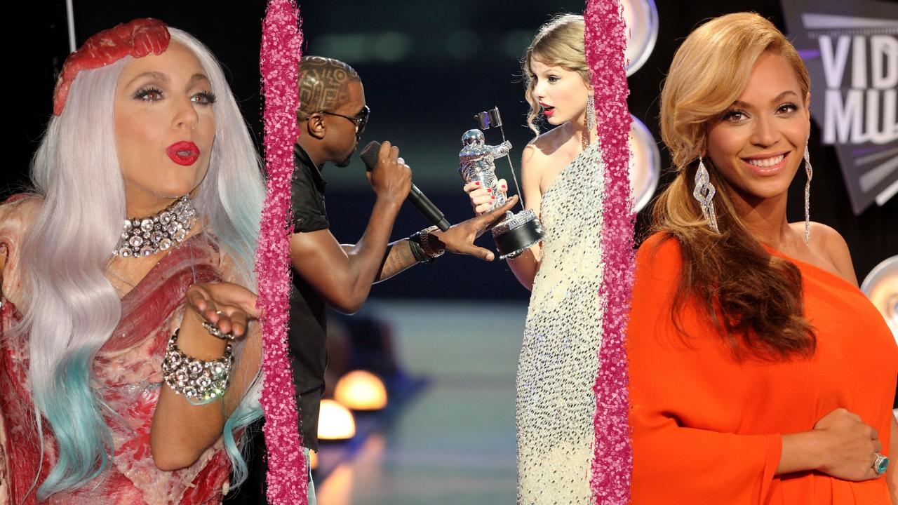 Momentos icônicos na história do VMA