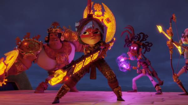 """Netflix libera o trailer da aventura animada """"Maya e os 3 Guerreiros"""""""