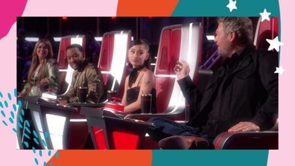"""Jurados do """"The Voice US"""" comemoram a volta da plateia e Blake dispara: """"É o público de Ariana Grande"""""""