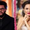 The Weeknd é flagrado novamente em jantar com Angelina Jolie