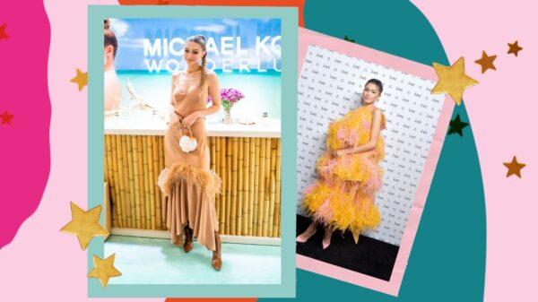 As plumas são a mais nova tendência de moda para a primavera/verão em 2021