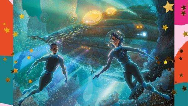 """Rick Riordan apresenta uma nova aventura submarina no livro """"A filha das profundeza"""""""