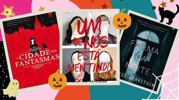 5 indicações de leitura de arrepiar para curtir o Halloween