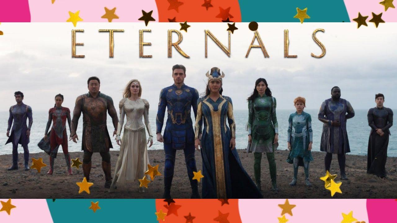 """Marvel divulga bastidores e cenas inéditas de """"Eternos"""""""