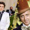 Timothée Chalamet divulga primeira foto como Willy Wonka