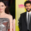Angelina Jolie ignora pergunta sobre The Weeknd