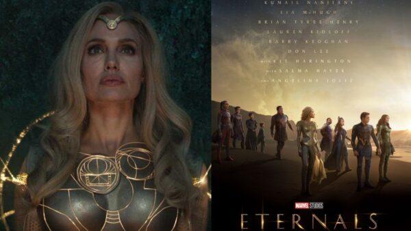 """Marvel divulga prévia de """"Eternos"""" e Angelina Jolie leva a internet à loucura!"""