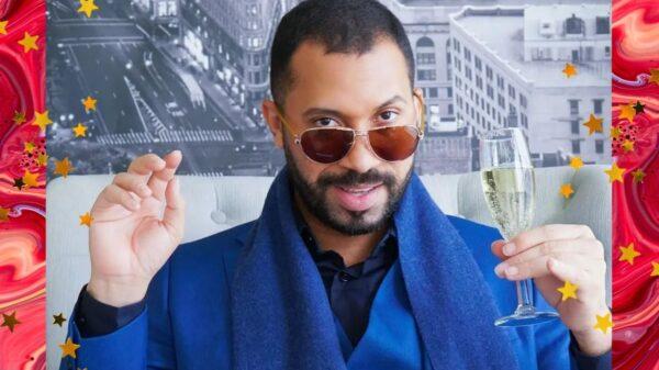 """Gil do Vigor comparece na première de """"Eternos"""" em Los Angeles e viraliza!"""
