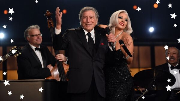 Lady Gaga explica porque se emocionou quando Tony Bennett falou seu nome em show